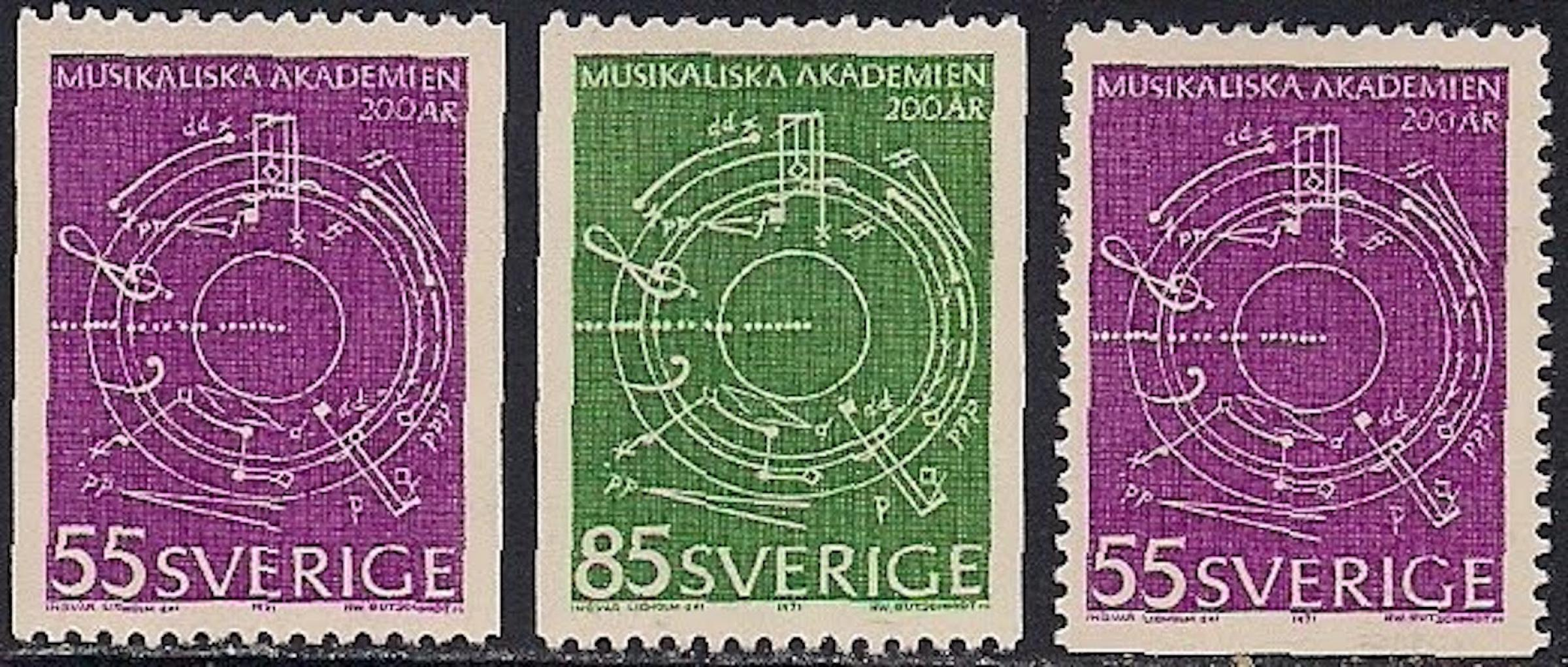Lidholm Stamp Music
